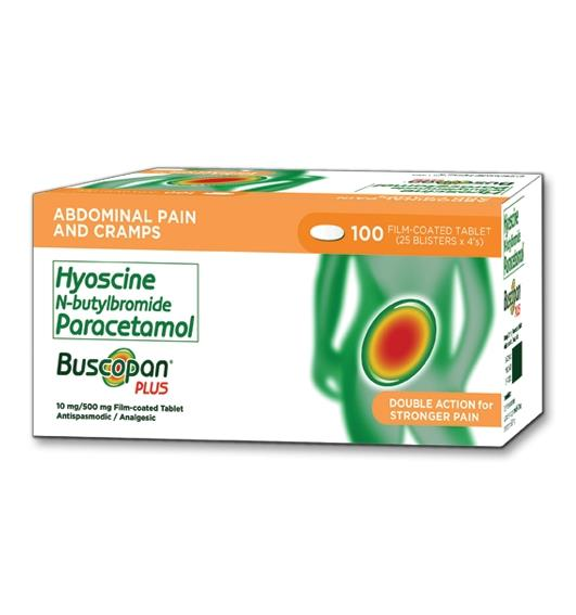 Buscopan Plus Full Prescribing Information Dosage Side Effects Mims Philippines