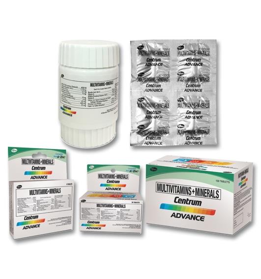 Centrum Advance Full Prescribing Information, Dosage & Side Effects | MIMS  Philippines